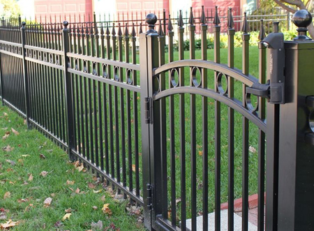 Decorative Steel Fencing ornamental fence companies in kansas city - fence installation